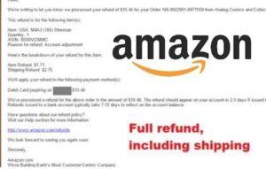 Amazon Refund Guide